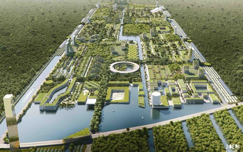 Hoe zit de stad van de toekomst eruit?